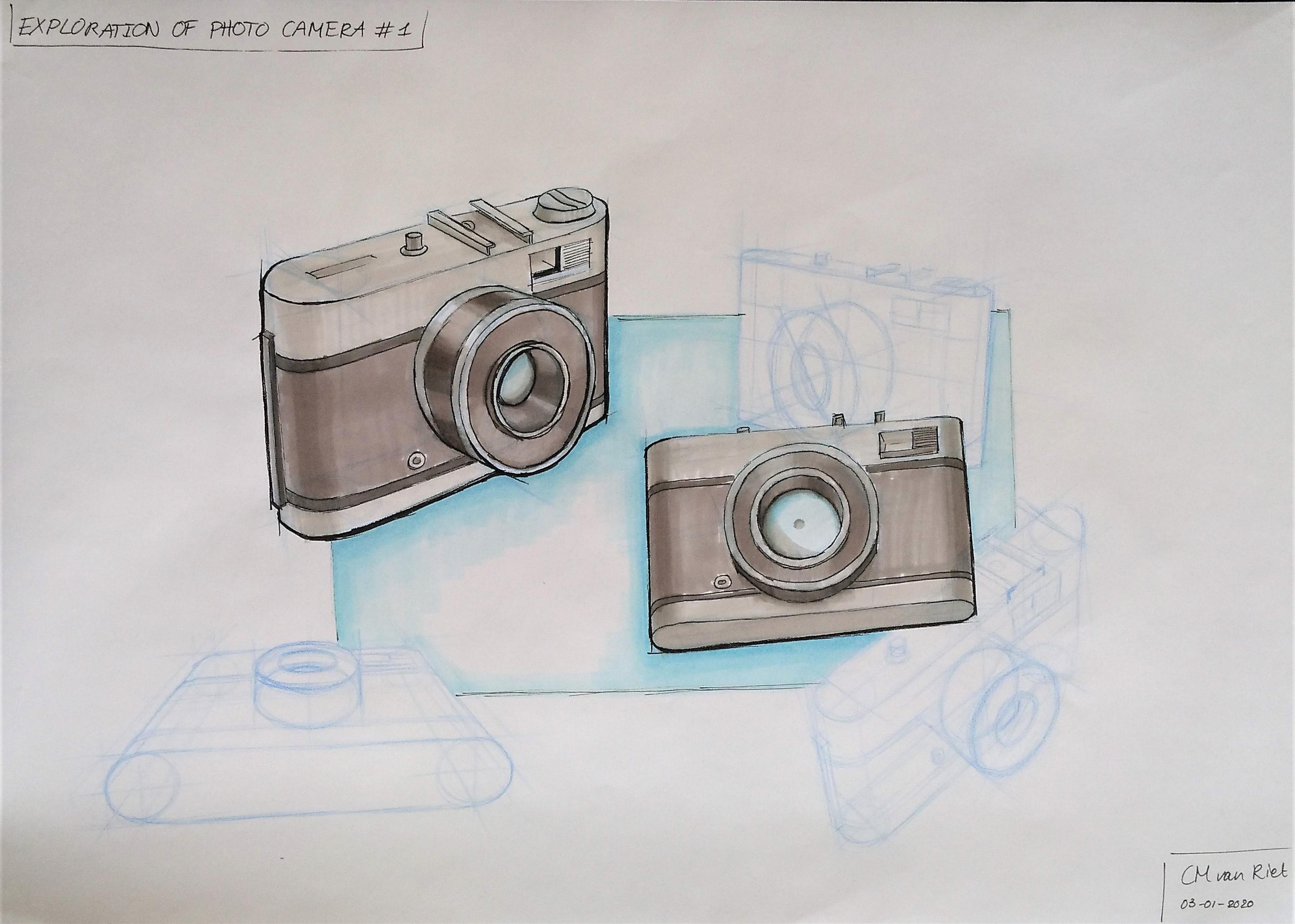 4 cameras rendered