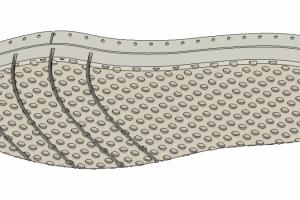 biodegradable shoe bottom