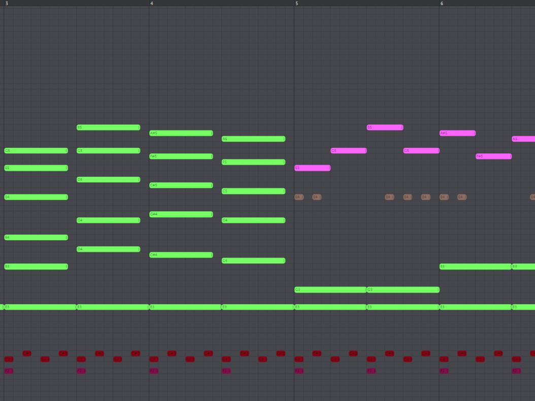 dramatic chord progression