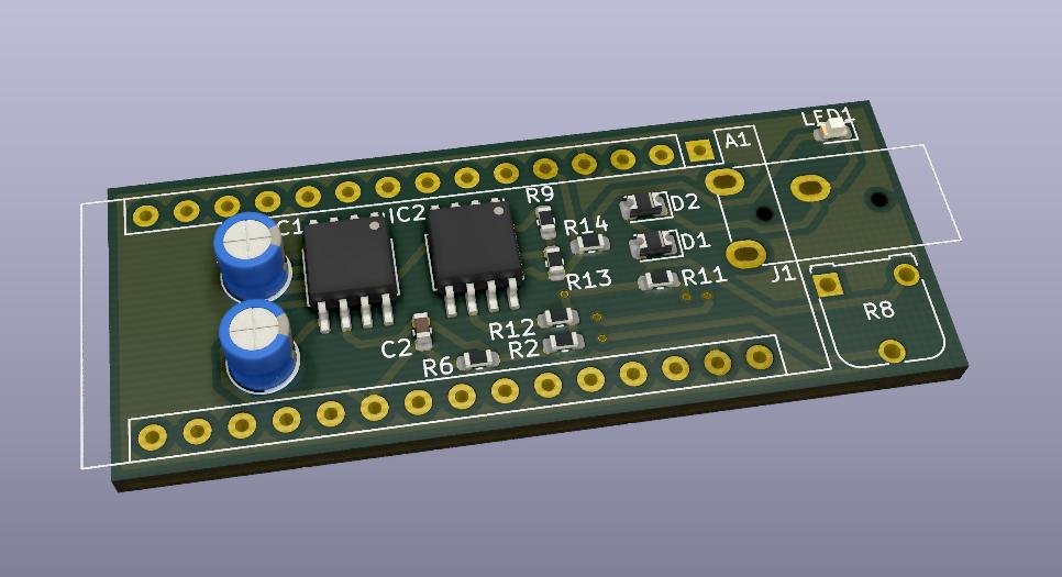 PPG sensor board 3D